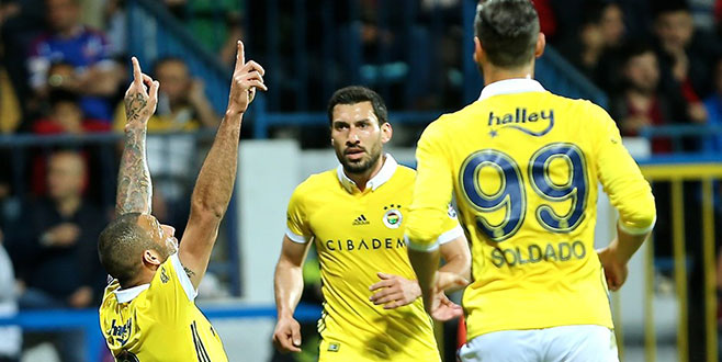 Fenerbahçe'den deplasmanda farklı galibiyet