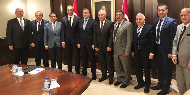 GTSO'dan Çavuşoğlu'na ziyaret