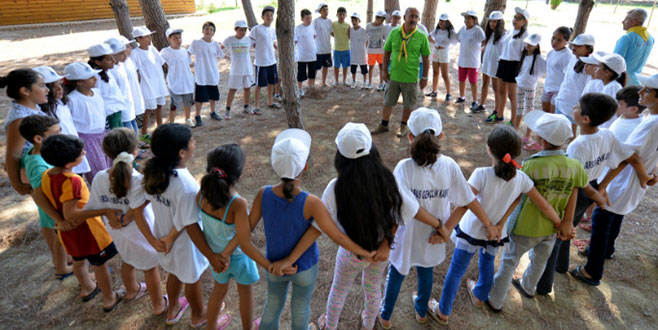 Orhaneli'ne büyük gençlik kampı