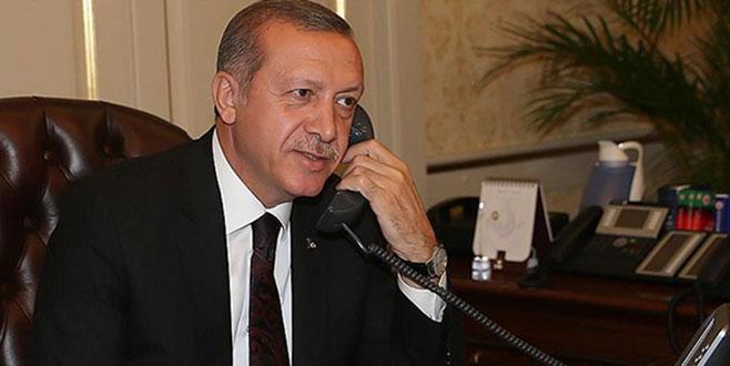 Cumhurbaşkanı Erdoğan Müslüman liderlerle bayramlaştı