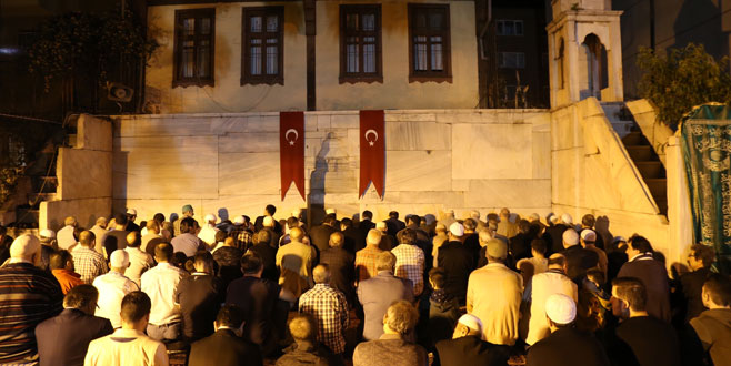 İlk teravih Namazgah Mescidi'nde