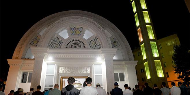 Demirtaş Cami ibadete açıldı