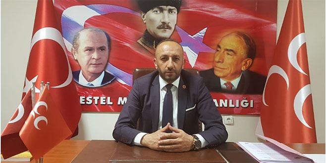 Kestel MHP'de Başkan Eraslan