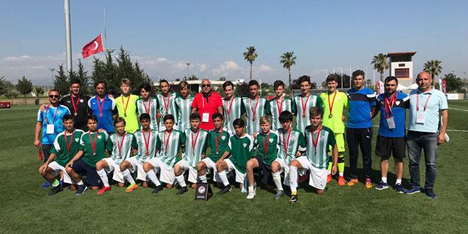 Bursaspor U14 Türkiye 3.sü Oldu