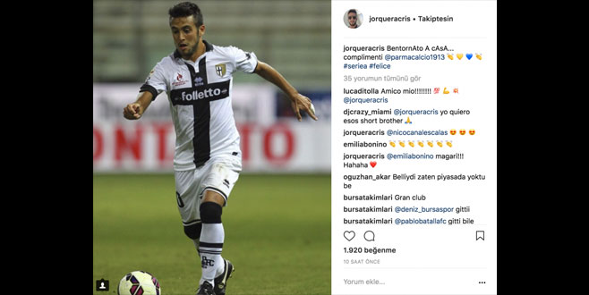 Joquera Parma'yı unutmadı