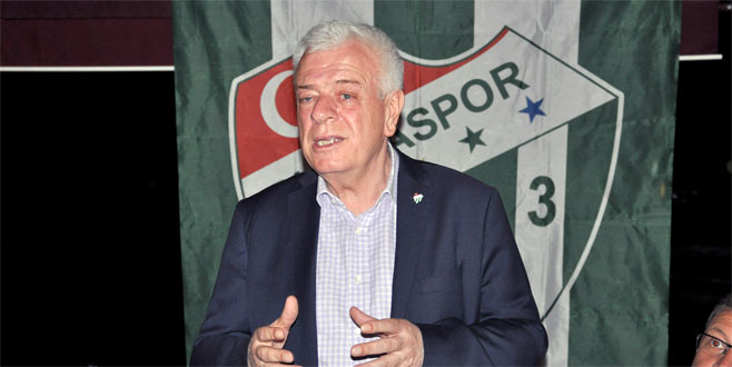 Ali Ay Bursaspor'un borcunu açıkladı
