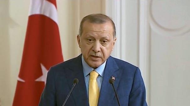 Cumhurbaşkanı Erdoğan'dan suikast iddiasına ilişkin açıklama
