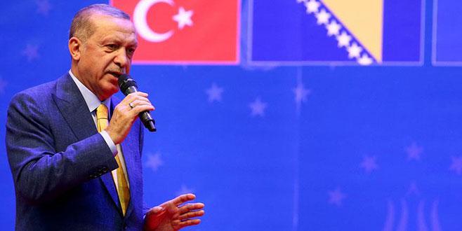 Cumhurbaşkanı Erdoğan: Eğer dünya, 5 üyeye teslim olacak olursa yandık