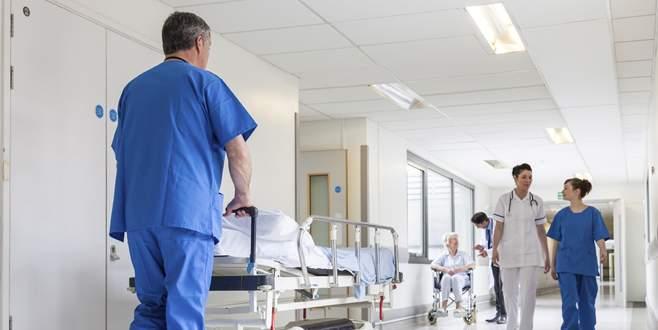 Hastanelere din adamı