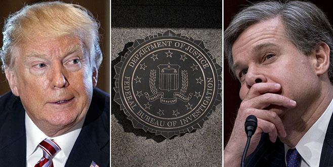 Trump FBI'ya karşı