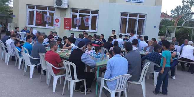 Gemlik MHP'den iftar programı