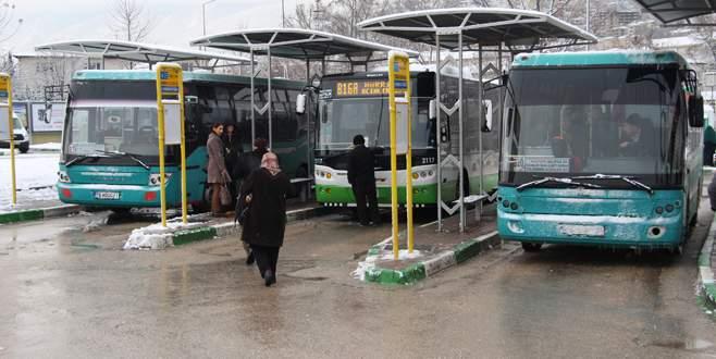 Halk otobüslerinin değişimi yıl sonuna kaldı