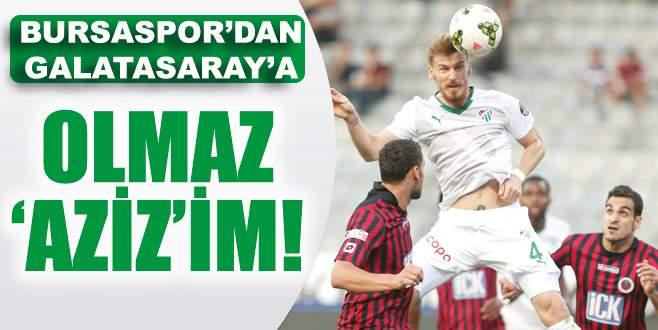 Galatasaray'da Serdar Aziz harekâtı