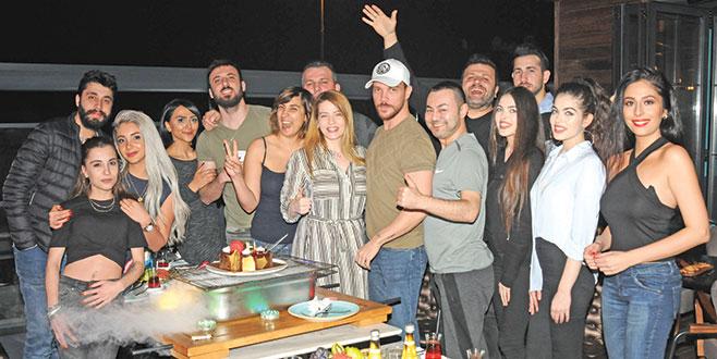 Sinan Akçıl'a sürpriz doğum günü