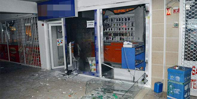 Bursa'da polisin dikkati yangını önledi