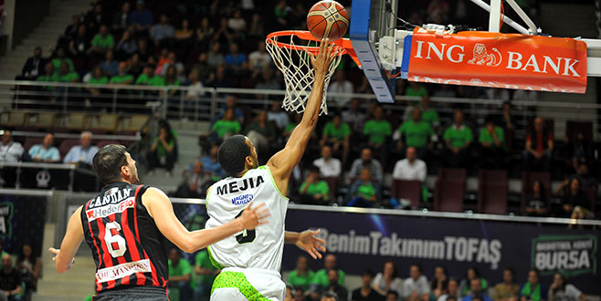 TOFAŞ - Eskişehir Basket: 85-58