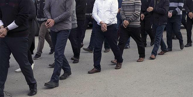 FETÖ soruşturmasında 61 şüpheliye gözaltı kararı