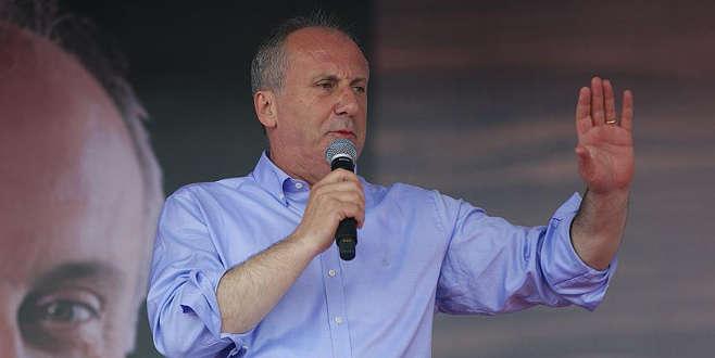 İnce'den diğer cumhurbaşkanı adaylarına bağış