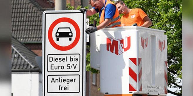 'Dizel' yasağı Hamburg'da başlıyor