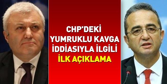 CHP'deki yumruklu kavga iddiasıyla ilgili ilk açıklama