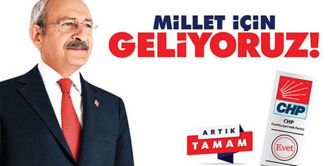 CHP'nin sloganı ve logosu belli oldu!