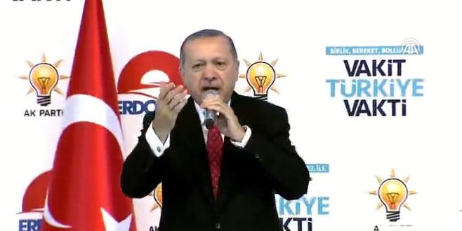 Cumhurbaşkanı Erdoğan, AK Parti'nin seçim beyannamesini açıklıyor