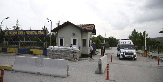 MKE Barutsan fabrikasında patlama