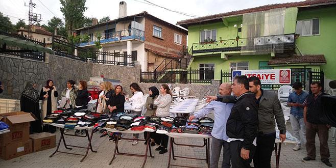 Bursa Fan Clup'ten köylere destek