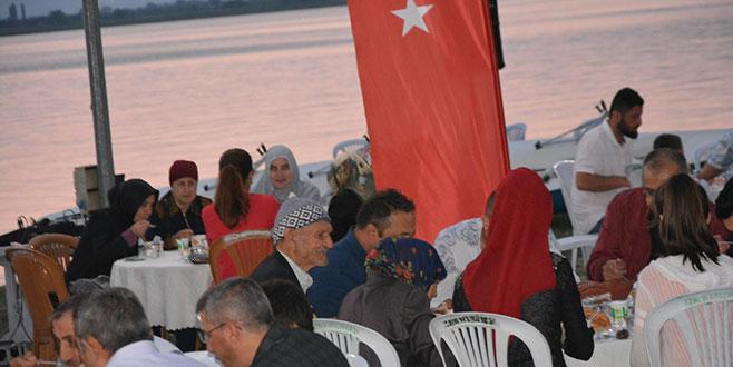 Gaziler ve şehit aileleri iftar sofrasında buluştu