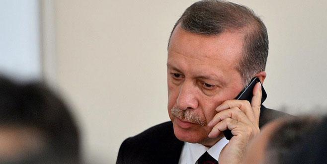 Cumhurbaşkanı Erdoğan'dan, Es-Sadr'a tebrik telefonu