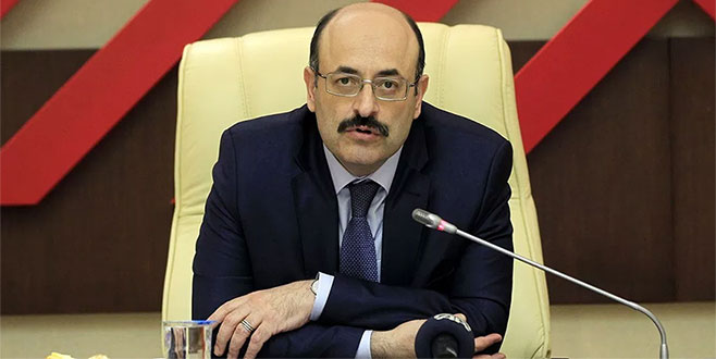 YÖK Başkanı Prof. Dr. Saraç: Fakülte bahçeleri siyasi propaganda yeri değil