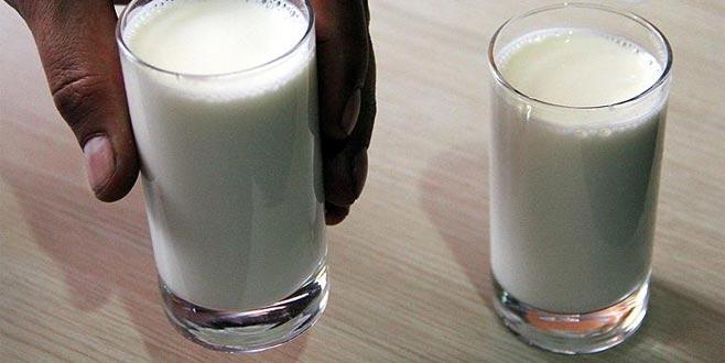'Sahurda bir bardak süt için'