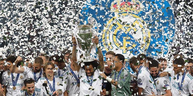 Avrupa'nın en büyüğü Real Madrid: 3-1