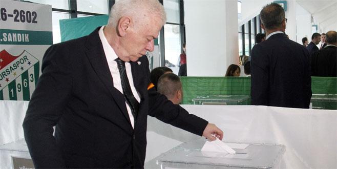 Olağan genel kurulda oy verme işlemi başladı