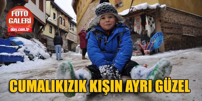 600 yıllık Osmanlı köyü Cumalıkızık, kışın ayrı güzel