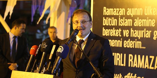 Büyükorhan'da birlik beraberlik mesajı