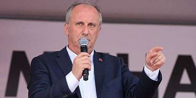 İnce'den Erdoğan'a 100.000 liralık tazminat davası