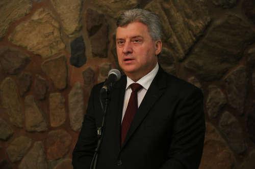 Makedonya Cumhurbaşkanı Üsküp'te iftar verdi