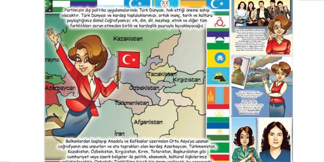 Meral Akşener, çizgi roman oldu