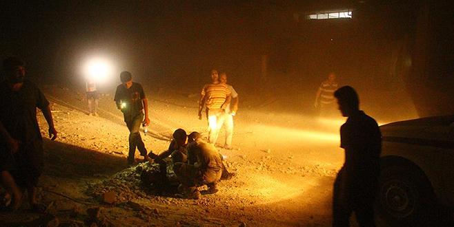 İdlib'deki hava saldırısında ölü sayısı 42'ye yükseldi
