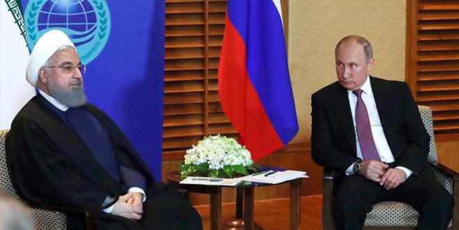 Putin ve Ruhani'denSuriye'de iş birliğine devam