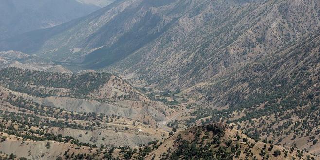 Kuzey Irak'taki Kandil Dağı görüntülendi