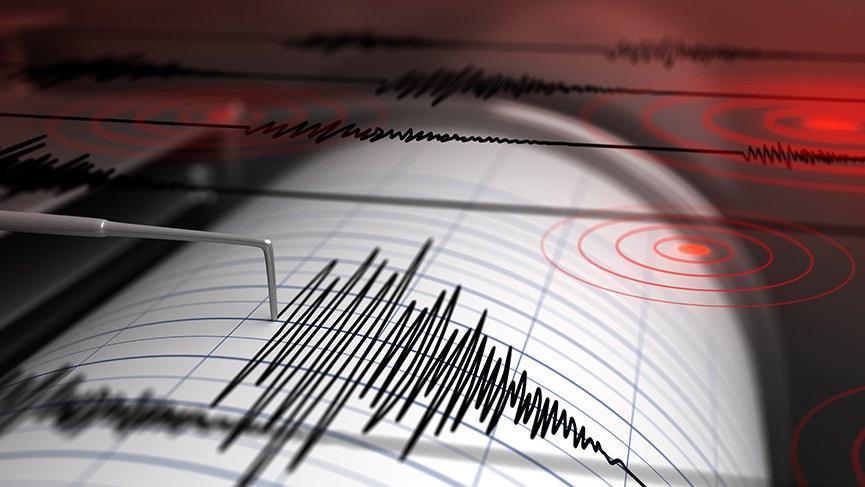 Burdur'da 4,6 büyüklüğünde deprem