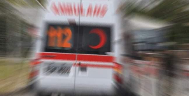 Mahkumları taşıyan araç devrildi: 11 yaralı