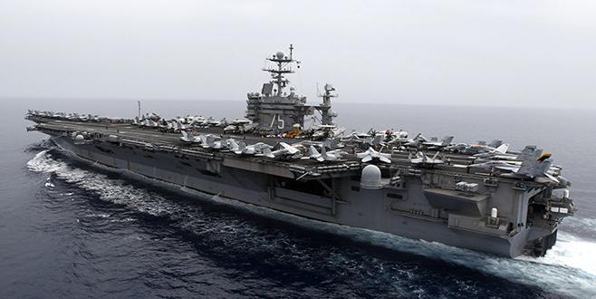 ABD uçak gemisi 'USS Harry Truman' DEAŞ'a karşı operasyon için Akdeniz'de