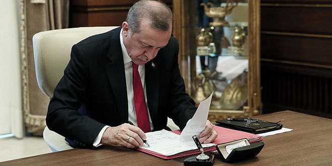 Cumhurbaşkanı Erdoğan'ın Danıştay üyelerine seçtiği isimler belli oldu