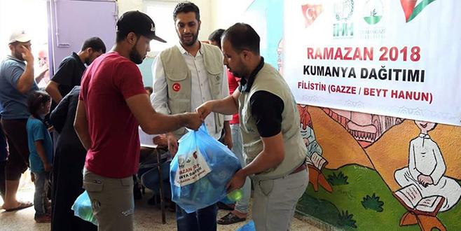Osmangazi'den Gazze'ye yardım