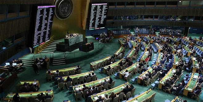 BM'den 'Filistin' kararı