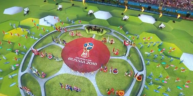 Dünya Kupası, Rusya-Suudi Arabistan maçıyla başladı