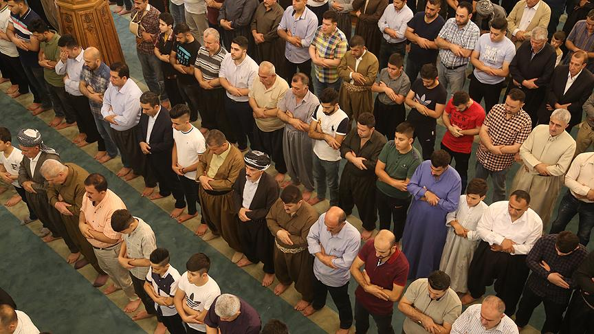 Dünyada Ramazan Bayramı coşkusu